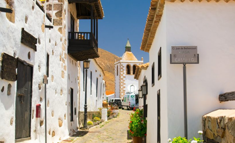 Streetview in Betancuria – the original capital of Fuerteventura