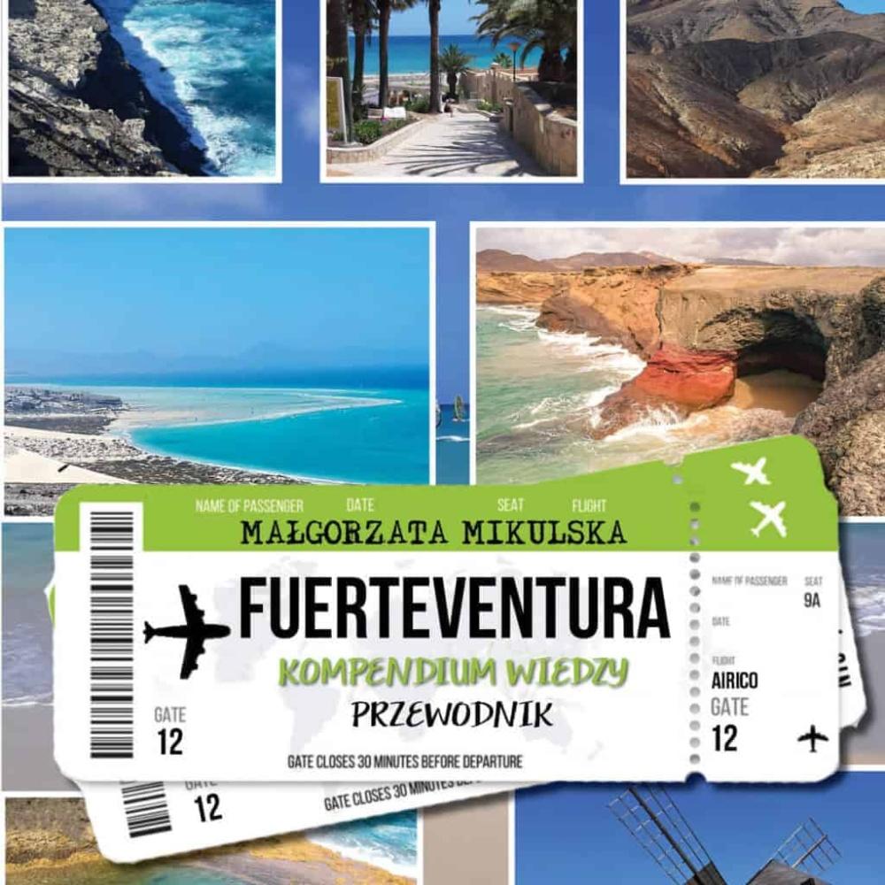 Małgorzata Mikulska przewodnik Fuerteventura